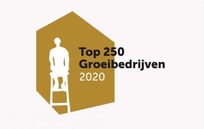 top 250 groeibedrijven 2020